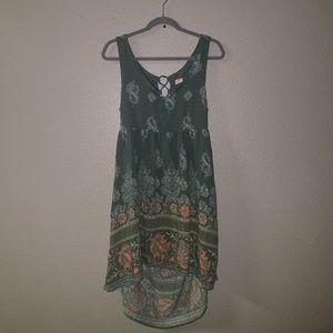 Open Back O'Neill Dress